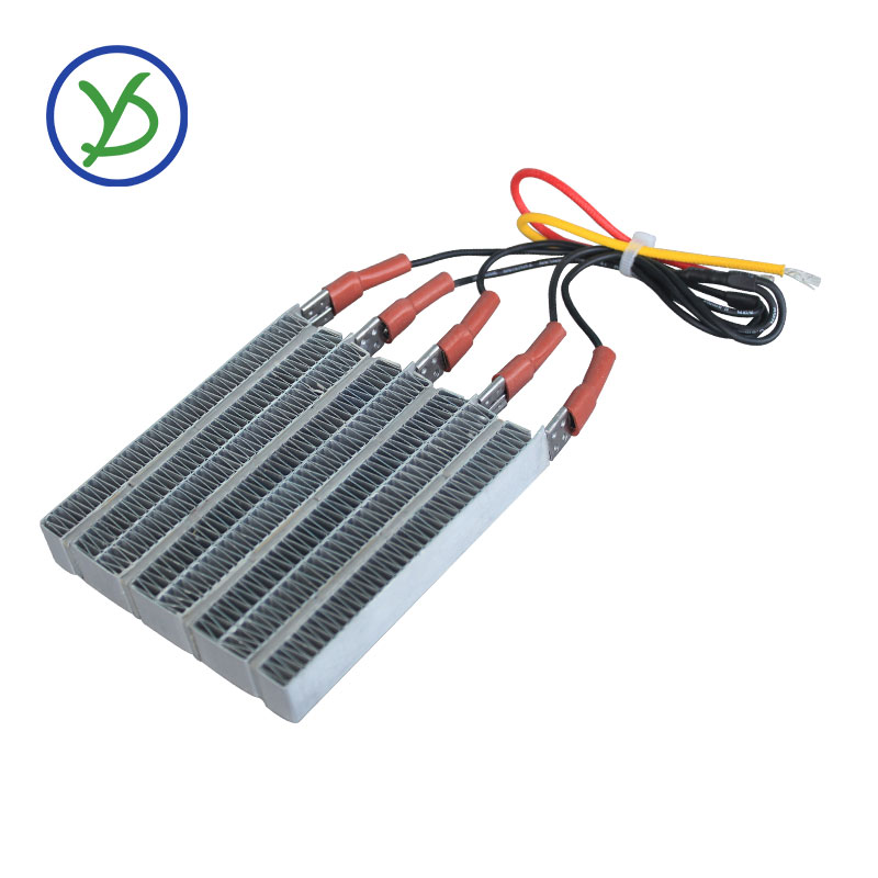1500W 220V Thermostatic PTC heating element ceramic air heater for drying machine With wiring