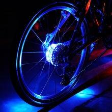 Велосипедный светильник на колесиках передний задний фонарь