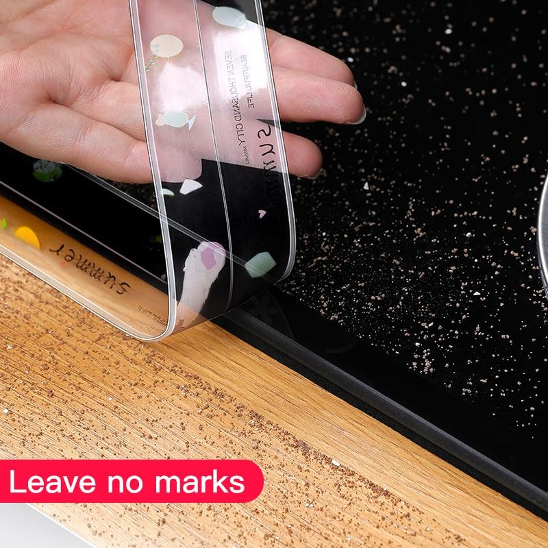 Kitchen Sink Waterproof Sticker Anti-mold Waterproof Tape Bathroom Countertop Toilet Gap Self-adhesive Seam Stickers 5