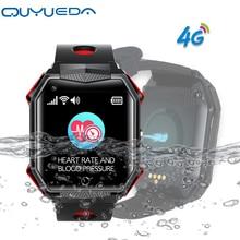 4G Smart GPS Watch IP67 Waterproof Watch Tracker For Elderly Support Blood Pressure Hert Rate Monitoring Fall Alert Video Call