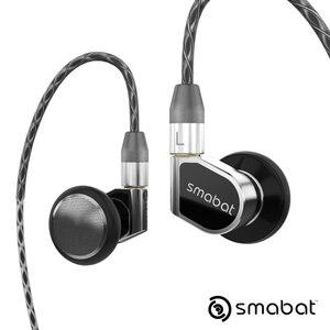 Image 2 - NICEHCK Smabat ST 10S zaczep na ucho flagowy HIFI metalowe słuchawki douszne 15.4mm dynamiczny sterownik z odłączanym kablem MMCX ST10S