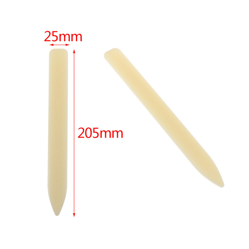 20.5CM Natural Bone Folder Tool For Scoring Folding Creasing Paper Leather Crafts For Handmade Leathercraft Accessories