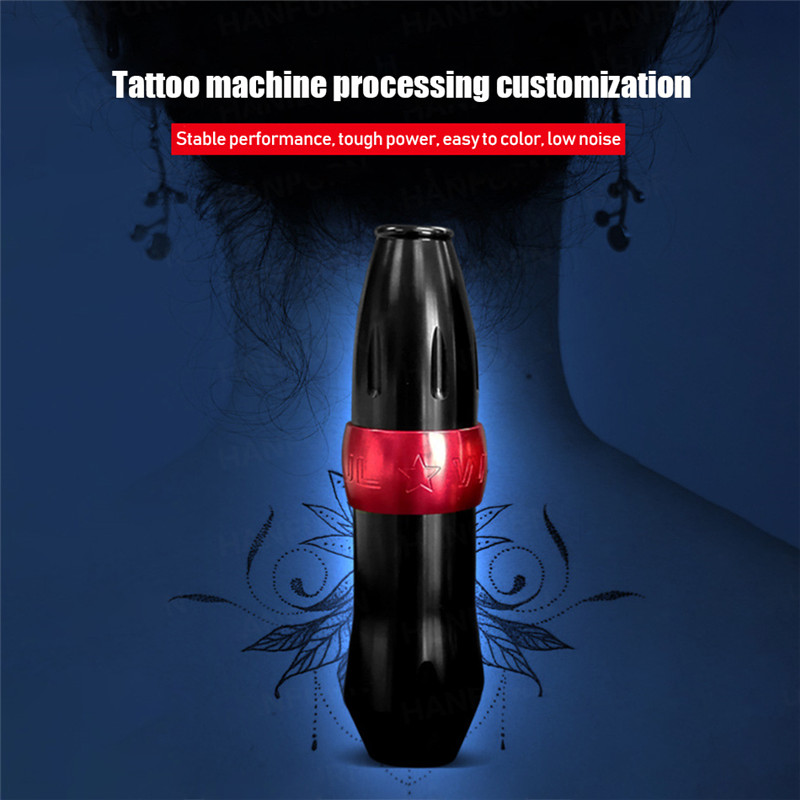 Durable Stainless Steel Tattoo Grip Kit Carved Tattoo Handle Tattoo Suppli HF