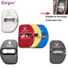 Ceyes Car Styling Auto Door Lock Cover Case For Renault Scenic Laguna Captur Megane 2