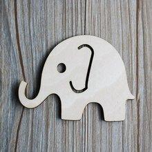 20 шт деревянные детские игрушки в форме деревянного слона ручной