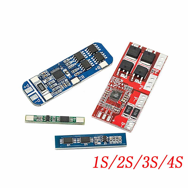 1S 2S <font><b>3S</b></font> 4S 3A 20A 30A Li-ion Lithium Battery 18650 Charger PCB BMS Protection <font><b>Board</b></font> For Drill Motor Lipo Cell Module image