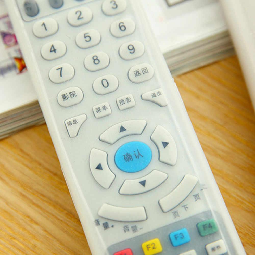 Silikon Silikon Cover Case untuk Mi Apple TV Hisense Konka Haier TV Air Conditioner Remote Control Dijual Luar DROP 910