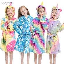 Loungeable Pour Femme 3D Bright Rainbow Unicorn tous dans un ou Robe de Chambre Polaire Nightwear