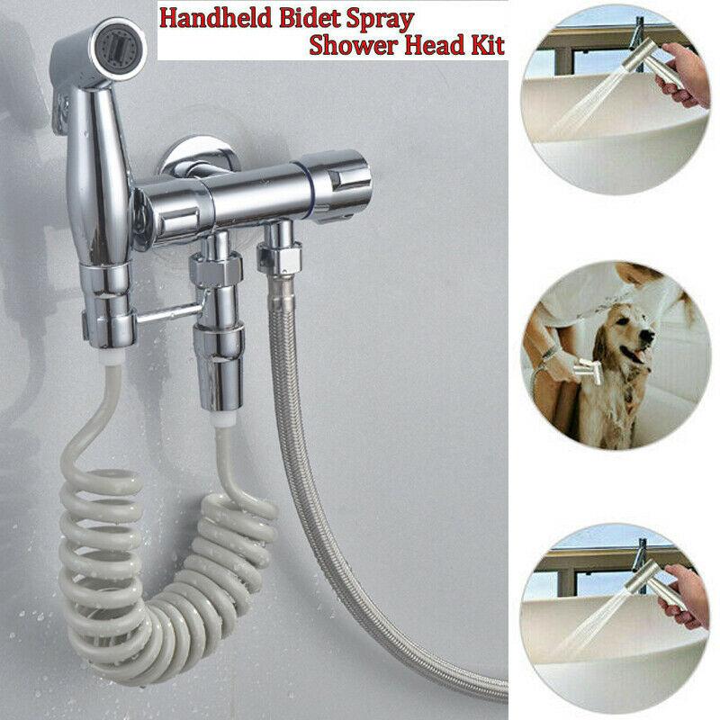 Bathroom Handheld Toilet Bidet Shower Sprayer Hose Holder Wall Bracket Fashion