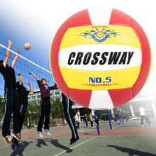 Crossway Game Volleyball Inflatable Indeformable Elastic No.5 Children Adult Professional Competition Volleyball for Students