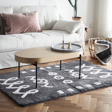 Moroccan Gray Trellis Trendy Area Rug,Handmade Area Rug Living room /Entryway  Feet Machine Washable Rug Pad