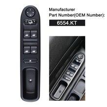 6554.KT 6554KT LHD главный выключатель электростеклоподъемника для peugeot 307 Break 2000- 307SW 2002- 307CC 2003