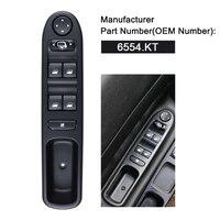 6554. Kt 6554KT Lhd Master Power Window Schakelaar Elektrische Voor Peugeot 307 Break 2000-2014 307SW 2002-2014 307CC 2003-2014