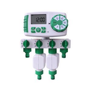Image 3 - Автоматический 4 зонный таймер полива сада, таймер полива сада с 2 соленоидными клапанами