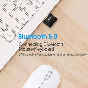 Image 4 - ミニ USB アダプタ USB ドングルワイヤレス USB Bluetooth トランスミッタ BT 5.0 音楽受信機の Bluetooth アダプタコンピュータ PC