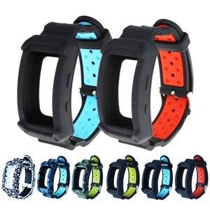 Image 3 - חדש סיליקון שעון להקת עבור ציוד Fit2 פרו כושר שעון יד להקות רצועת עבור Samsung Gear Fit 2 SM R360 צמיד