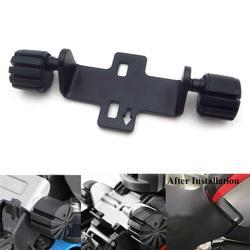 Czarny siedzisko dla kierowcy zestaw obniżający kompatybilny z BMW S1000XR K1600GT R1200RT LC R1200GS LC R1250GS motocykl regulowany fotel Loweri