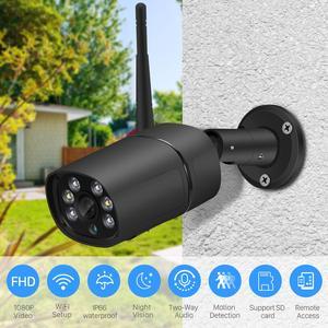 Image 5 - BESDER H.265 1080P WIFI IP Ai Phát Hiện TF Khe Cắm Ngoài Trời 2MP Camera Không Dây Âm Thanh Màu Tầm Nhìn Ban Đêm An Ninh camera quan sát