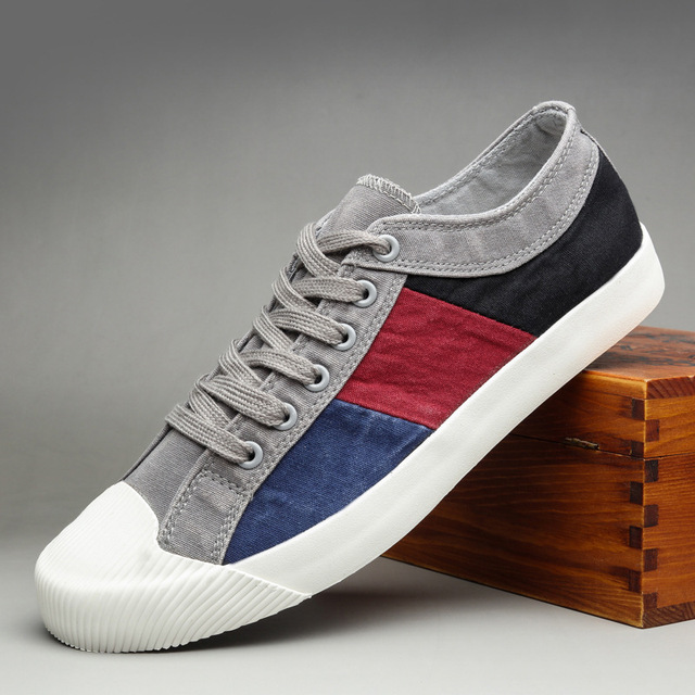 Running Shoes Men Canvas Shoes Personality Denim Shoe For Man Platform Sneakers Mens 2020 New High Quality Shoes Men's Footwear
