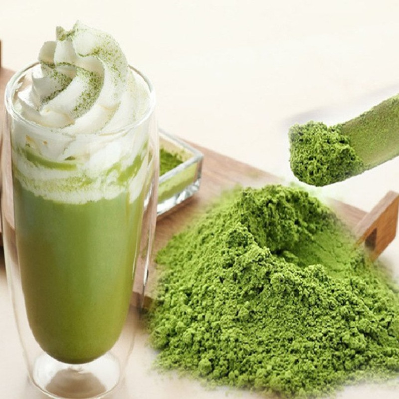 Chinese Green Tea Matcha Tea Green Food Pure Matcha Powder 100g