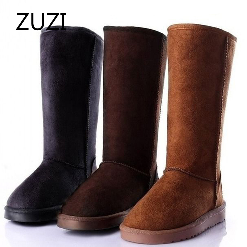 ZUZI 2020 Warm Flock Classic Snow Boots Women