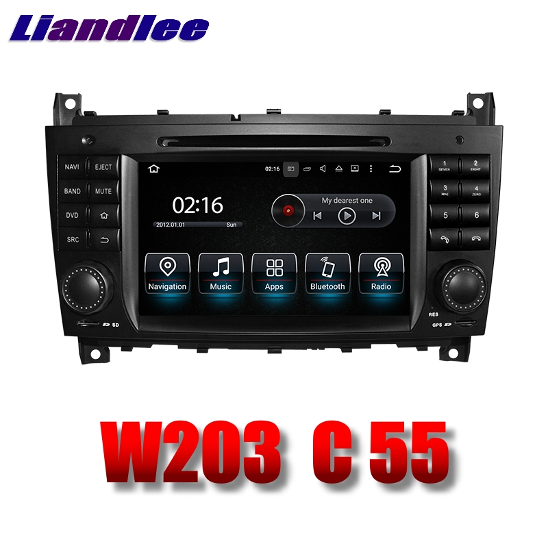 Liandlee Car Multimedia Player <font><b>NAVI</b></font> For Mercedes <font><b>Benz</b></font> C 55 <font><b>W203</b></font> MB 2004~2007 Touch Screen System <font><b>Radio</b></font> DVD Stereo GPS Navigation image