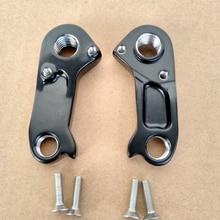 цена на 2pc Bicycle gear derailleur hanger For MTB GT #KG0007N02 GT Zaskar Carbon Comp 9R GT Force Sensor MECH dropout carbon frame bike