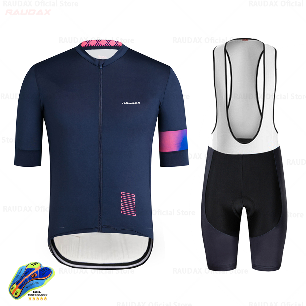 Cycling Jersey 2020 Pro Team  Summer Anti-UV Cycling Jersey Set Breathable Racing Sport Jersey MTB Cycling Clothing Uniform