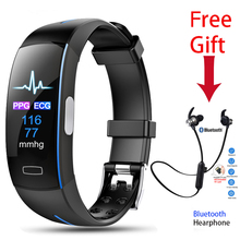 Relogio Smart Watch ECG+PPG Blood Pressure Heart Rate Tracker Pedometer Sport Bracelet Smartwatch  for IOS Android pk Xiaomi 3 4 все цены