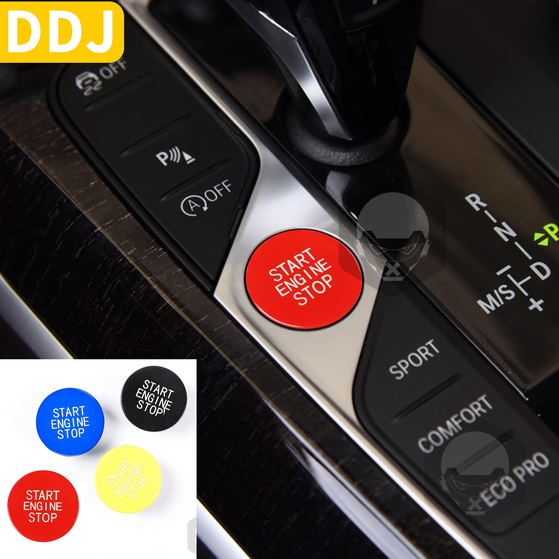 Кнопка запуска и остановки автомобиля, Сменный переключатель зажигания для BMW 3 серии G20 X5 X6 G05 G06 G07 G14 G29 F40 F44, аксессуары для интерьера