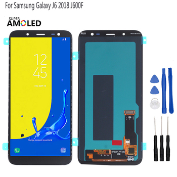 цена на Original OLED For Samsung Galaxy J6 2018 LCD Display Touch Screen Digitizer Assembly Replacement J600F J600 Screen LCD Display