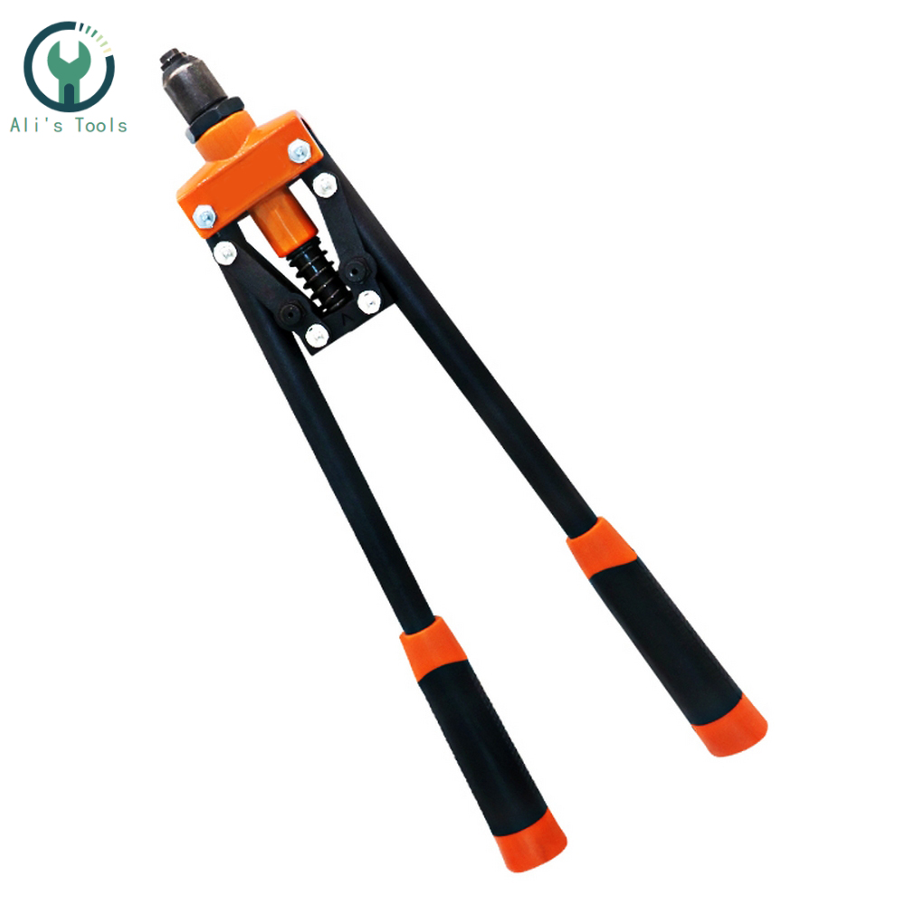 Riveter Gun Auto Rivet Tool  Blind Rivet Nut Gun Heavy Hand INSER NUT Tool Manual Mandrels M3.2/M4/M5