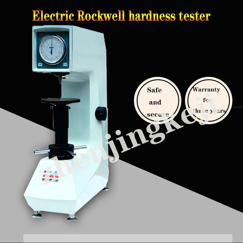 Appareil de mesure de la quantité physique de dureté électrique Rockwell Jiahe procédure expérimentale testeur de dureté d'automatisation