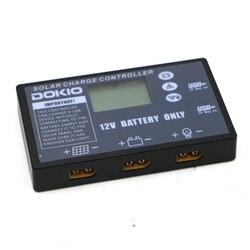 DOKIO Flexible folding solar panel Dedicated Solar controller for 12V battery USB solar controller 10A/20A solar controller