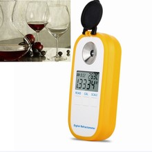 Digitale Druif Alcohol Refractometer Suiker Wijn Concentratie Meter Brix 0-50% Alcohol 0-22% Vol Kmw 0-25% Oe 0-150 Densitometer