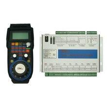 цены на 4 Axis MACH3 USB motion control card CNC Standard Board MK4 Handwheel with LCD display  в интернет-магазинах