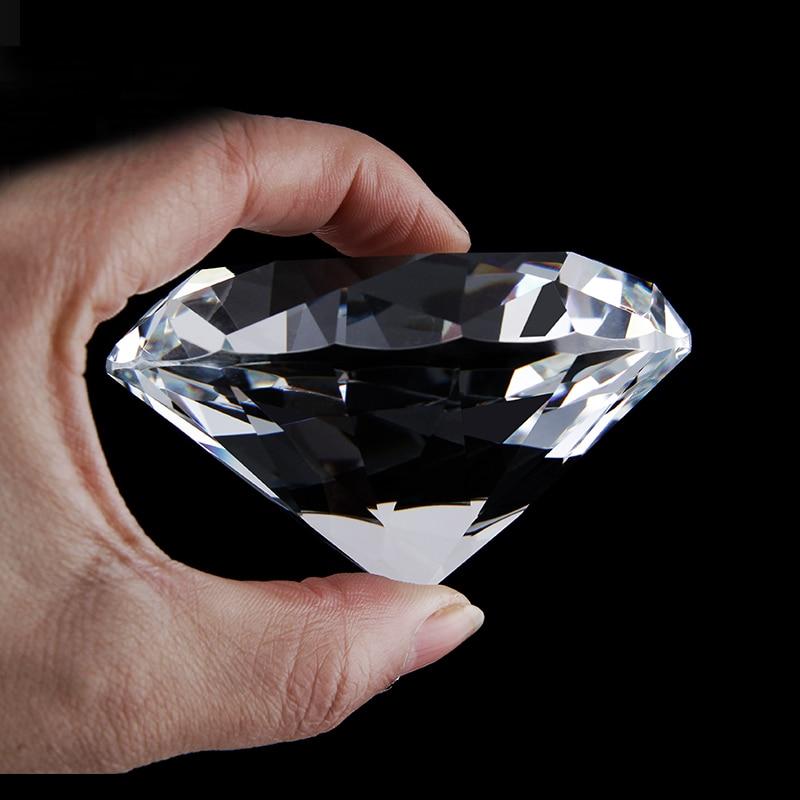 20-70mm cristal clair diamant Table pièce maîtresse disperser mariage mariée fête d'anniversaire anniversaire décoration cadeaux