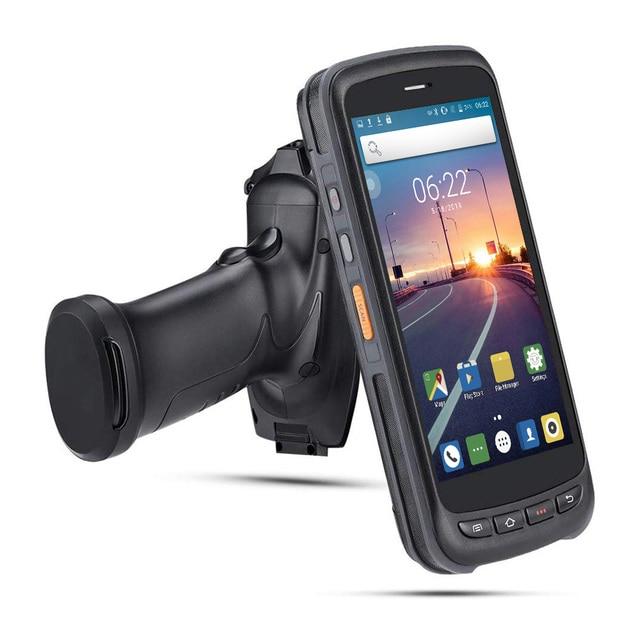 PDA Scanner Handheld Android 8.1 POS Terminal barcode Scanner 2D 4G WiFi Zebra  Bar code Reader 8000mAh Battery Data Collector