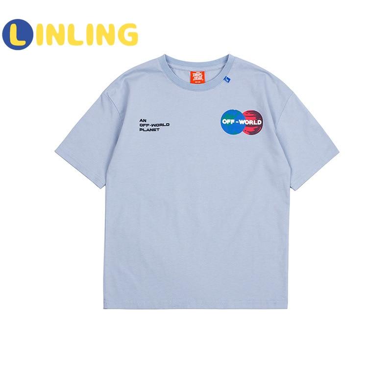 LINLING Fashion  Cotton Kids Costume Cartoon Prints Children's T-shirt Summer Soft Cotton Boys T Shirt V241 6