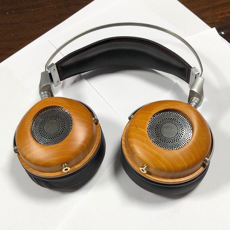 Sur l'oreille grand casque boîtier ouvert arrière casque boîtier bricolage 40mm 50mm haut-parleur unité casque coque étui bricolage 88mm casque antibruit