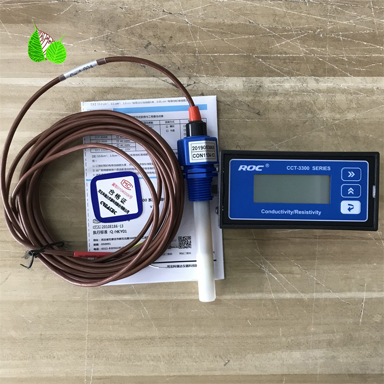CCT-3320T Water Quality Online Detection Conductivity Meter CM-230A With Probe Sensor