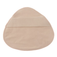 Cotton Protect Pocket for Mastectomy Silicone Breast Forms Prosthesis Artificial Fake Boobs Cover Bags(China)