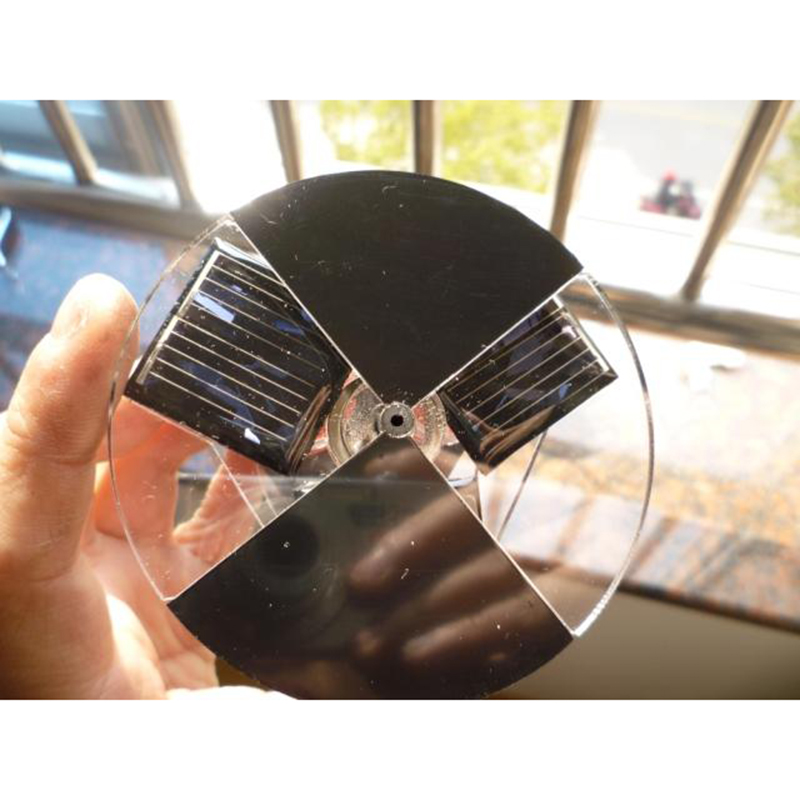 Solar Magnetic Levitation Door Dorsino Motor Photodynamic Disc Perpetual Motion Decoration Children's Birthday Gift