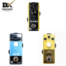 Acoustic Guitar Effects Pedal wholesale delay chorus reverb guitar parts & accessories Effect guitarras Electric 3 pieces Group mooer baby water acoustic guitar effect pedal chorus delay digital effects true bypass