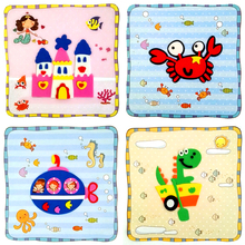 3D EVA Foam Sticker Cute Cartoon Animal DIY Puzzle Game Children Learning Education Toys New Multi-patterns Styles Random Send
