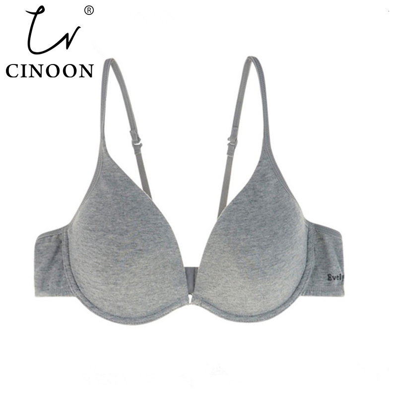 CINOON Damen Unterwäsche Backless Intimates sexy Push-up-BH Memory Foam Solid 3/4 Tasse Soft Bra Charming Sexy Bras Bralette