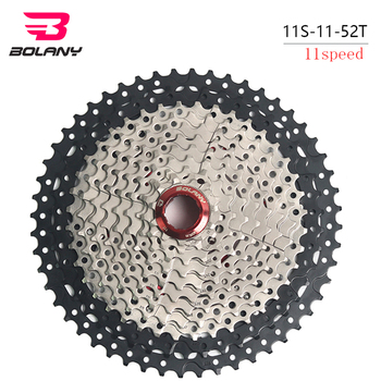 BOLANY Mtb 11 Speed Cassette Bicycle 11-52T Mountain Bike Bicycle Freewheel Accessories  shimano xt cassette