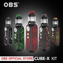 Original OBS Cube X Kit 80W OBS Cube X Box MOD Vape 4ml Tank Electronic Cigarett