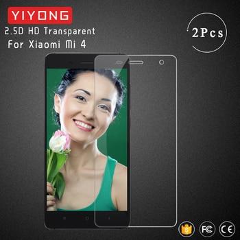 Cristal de pantalla YIYONG 2.5D para Xiaomi Mi 4 vidrio templado Xiomi Mi4 película protectora de pantalla para Xiaomi Mi 4C Mi4C Vidrio Templado
