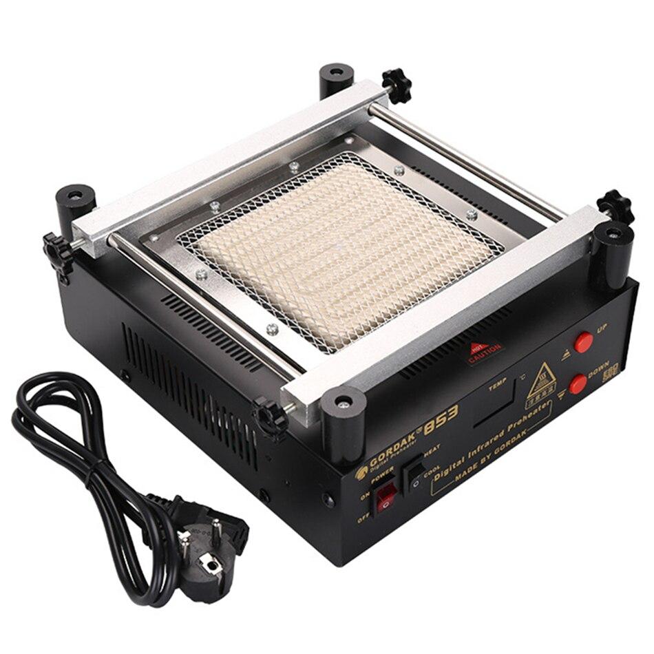 Gordak 853 Hot Air Heat Gun przeróbka bga stacja lutownicza + lutownica elektryczna + stacja podgrzewania na podczerwień